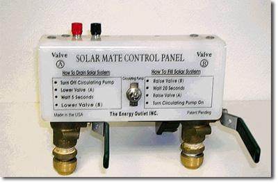 solar hot water panel installation instructions
